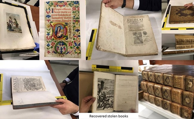 Rare Books Stolen By