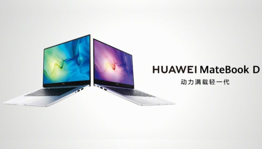 Huawei MateBook D 15, MateBook D 14 2021 With Intel 11th Generation Processors Launched