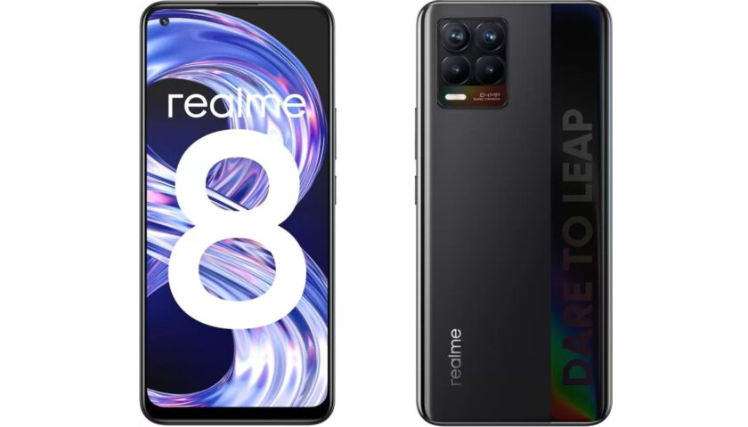 Realme 8 Gets First Update in India, Brings Camera and Touch Improvements