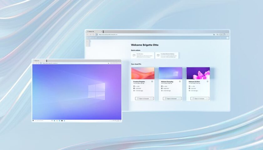 Windows 365 Unveiled, a Cloud PC Platform That Lets You Use the OS From Any Device
